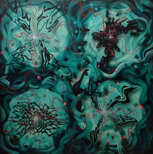 4. Jonas Pihl 2009 100x100, uden titeljonas pihl malerier 009 [Skrivebordets opløsning]