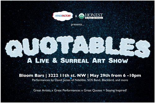 Quotables Art Show