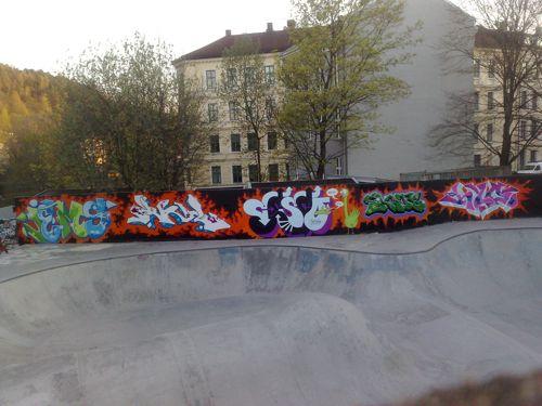 whole wall 3 gamlebyen 7 mai