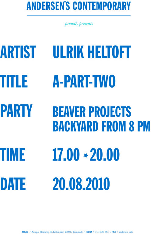 HELTOFT INVITATION