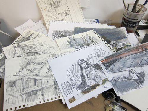DanScheinstudiovisit201110