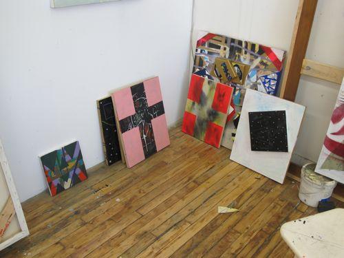 Pat Brennan Studio visit 2011 - 08