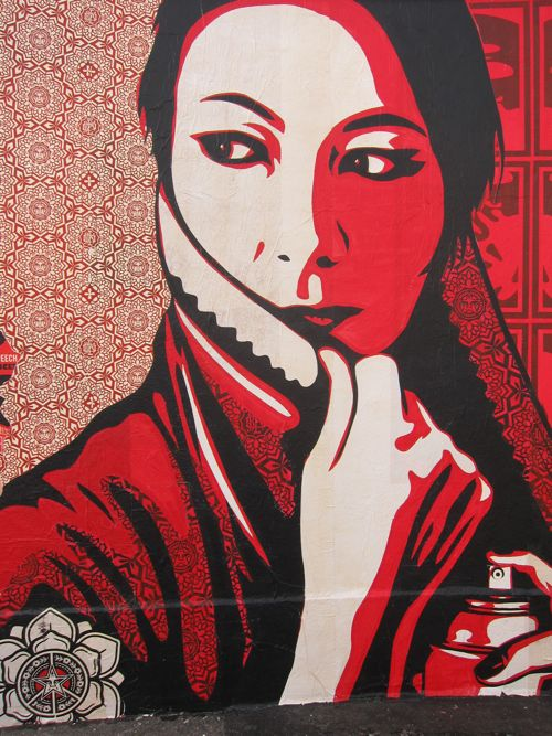 Obey – Last wall in Copenhagen « Brask Art Blog