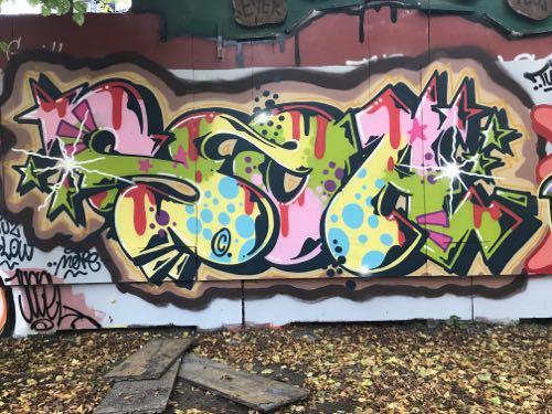 Graffiti Art I Love You