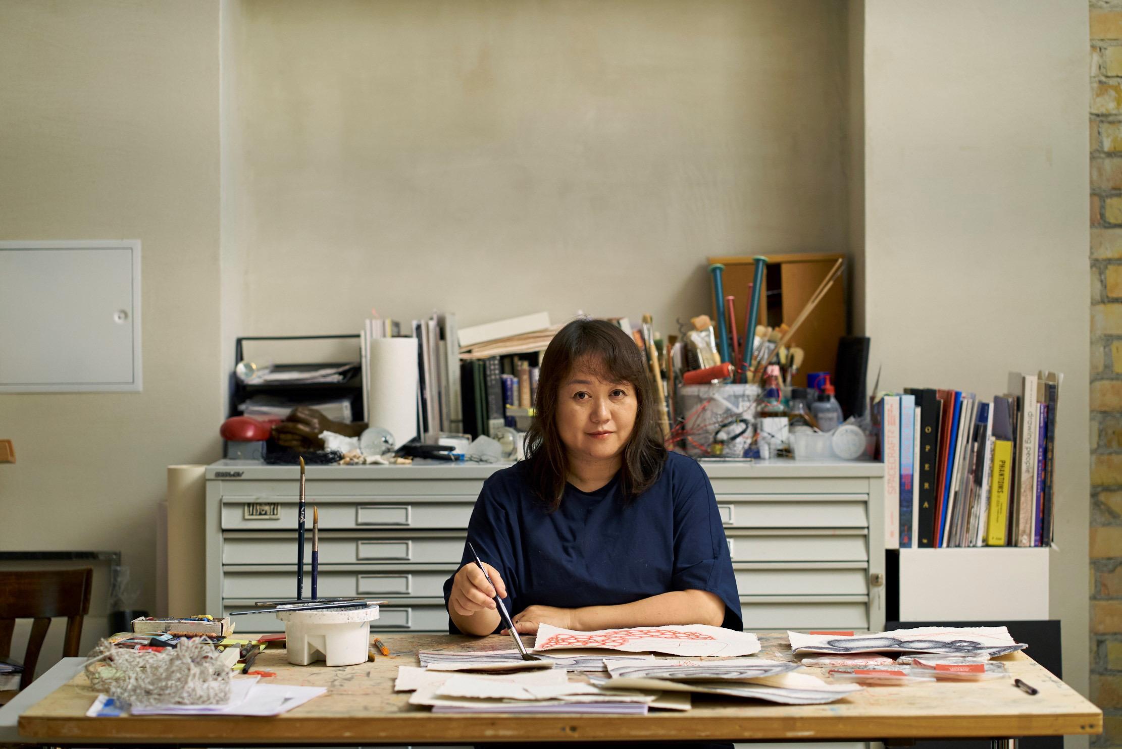 Chiharu Shiota – All Eyes On
